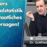 Seehofers Kriminalstatistik zeigt staatliches Totalversagen!
