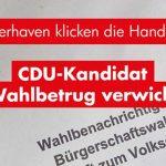 Bremerhaven: CDU-Kandidat in Wahlbetrug verwickelt?