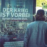 """""""Geht nach Hause"""" – Plakat-Aktion der Identitären fordert Syrer zur Rückkehr in die Heimat auf"""