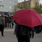 AFD Infostand in Hamburg-Wilhelmsburg von linken Zecken angegriffen