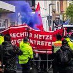 Eierwürfe + Pyrotechnik in Landau! – Polizei kapituliert!