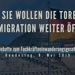 AfD: Sie wollen die Tore für Migration weiter öffnen!