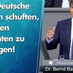 Bernd Baumann: Zehn Deutsche müssen schuften, um einen Migranten zu versorgen!