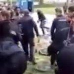 Video zur Aufruhr nach Todesfall in Asylheim