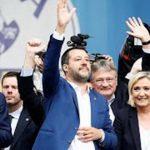 Rechtsallianz von Salvini trifft sich in Mailand