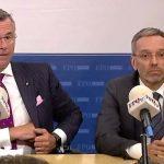 Pressekonferenz mit FPÖ-Innenminister Herbert Kickl