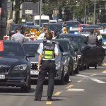 Köln-Deutz: Polizei stoppt türkischen Hochzeitskonvoi
