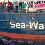 Jetzt kann ohne Probleme geschleppt werden: Sea Watch 3 trägt nun deutsche Flagge