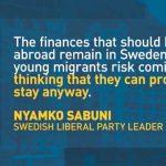 Schweden: Streit um neue Vorsitzende wegen harter Migrationspolitik