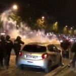 Algerische-Fußballsieg-Feiern in Frankreich: Ausschreitungen, Plünderungen, algerische Flagge gehisst