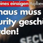 Alice Weidel: Wegen eines einzigen Asylbewerbers, muss Rathaus mit Security geschützt werden