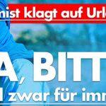 AfD – Gute Idee: IS-Anhänger klagt gegen Ausreiseverbot