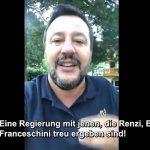 """Salvini zu neuer Regierung: """"Millionengeschäft Massenmigration – Häfen werden wohl wieder geöffnet"""""""