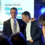 Drastische Verluste für die FPÖ: Wahlparty mit Durchhalteparolen