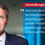 Thüringer aufgepasst! Umsiedlung von Migranten nach Thüringen kann nur mit der AfD verhindert werden!