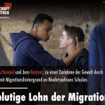Armin-Paulus Hampel und Jens Kestner: Der blutige Lohn der Migration!