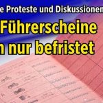 Ganz ohne Proteste und Diskussionen: Neue Führerscheine gelten nur befristet!