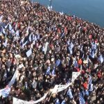 Griechen haben die Nase voll: Proteste gegen Flüchtlingslager auf Insel Lesbos