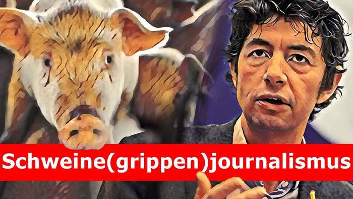 Sch(w)ein(e)journalismus: Wie damals, so heute?