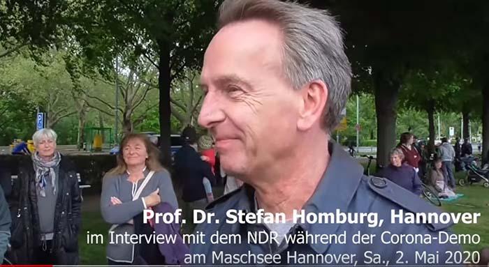 Prof Homburg Hannover Corona