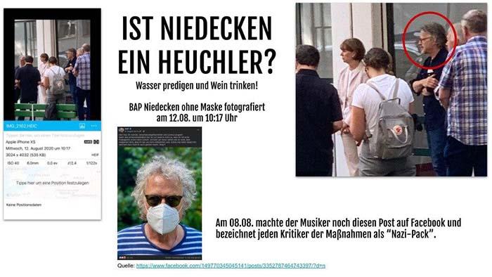 Ist Wolfgang Niedecken (BAP) ein HEUCHLER?
