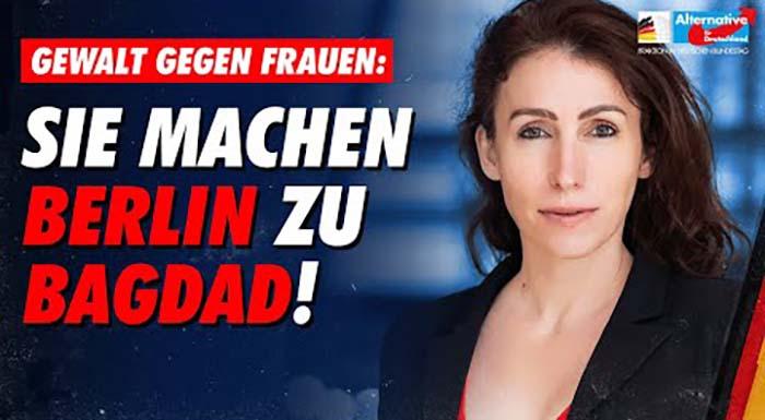 """Mariana Harder-Kühnel: """"Sie machen Berlin zu Bagdad!"""""""
