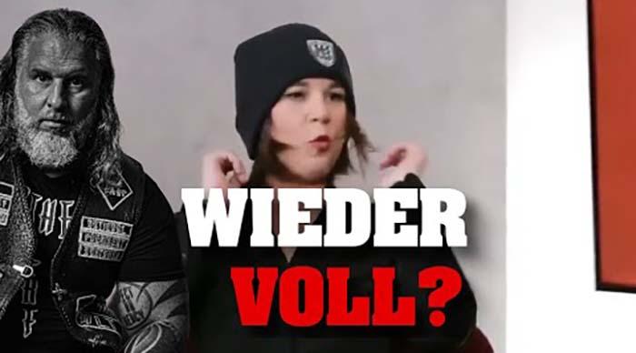 GRÜNEN-Chefin im Interview wieder BETRUNKEN?