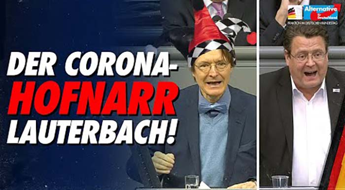 Stephan Brandner: Der Corona-Hofnarr Lauterbach!